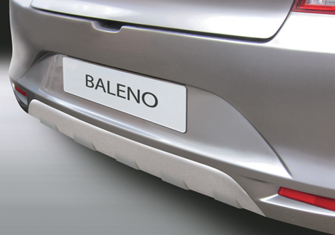 RSP6195 - BALENO 4.2016> REAR SKID PLATE (SILVER)