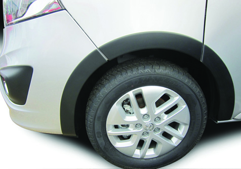 WA300 - VIVARO MK2 6.2014> WHEEL ARCH COVERS (10 PIECE KIT)